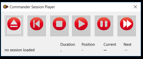 session player screen